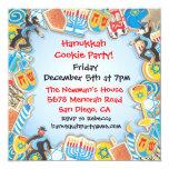 Hanukkah Cookie Party Invitation