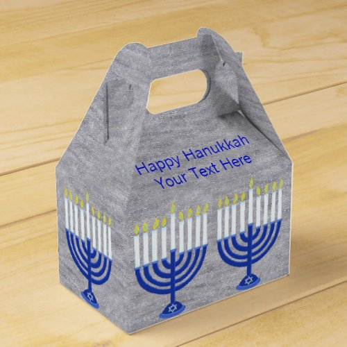 Hanukkah Favor Boxes
