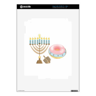 Hanukkah Decals For The iPad 2