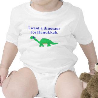 Hanukkah Dinosaur apparel Shirts