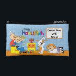 "Hanukkah Dreidel Bag Personalize<br><div class=""desc"">Just making fun for the kids for Hanukkah! Personalize a Dreidel Case,  add some dreidels and gelt for many great dreidel games to come!</div>"