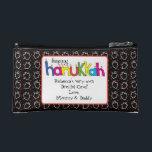 """Hanukkah Dreidel Bag Personalize<br><div class=""""desc"""">Get your dreidels and treats ready for some fun. Personalize a child"""