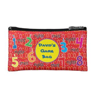 Hanukkah Dreidel Bag Personalize for Dreidel Fun