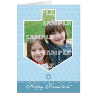 Hanukkah Dreidel Framed Greeting Card