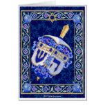 Hanukkah Dreidel Notecard Greeting Card