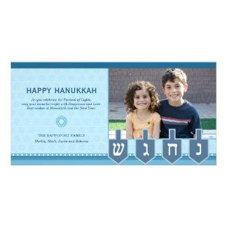 Hanukkah Dreidel Photo Card