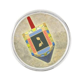 Hanukkah Dreidel Pin