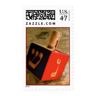 Hanukkah Dreidel Stamp