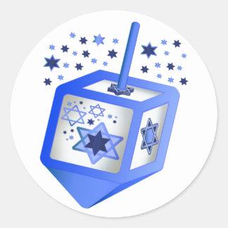 Hanukkah Dreidel Sticker