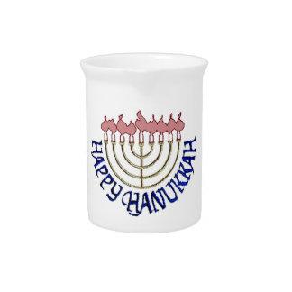 Hanukkah Drink Pitcher