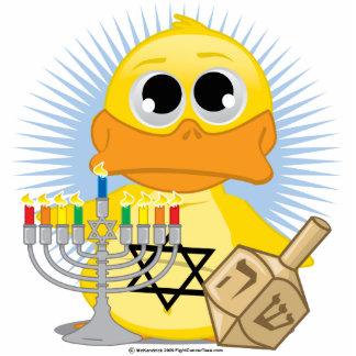 Hanukkah Duck Statuette
