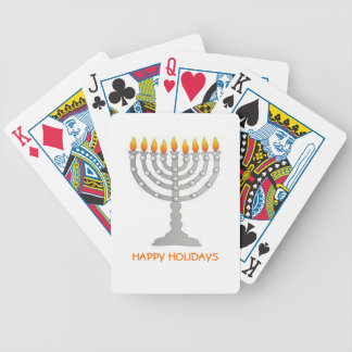 HANUKKAH GIFT HAPPY HOLIDAYS MENORAH DECK  CARDS