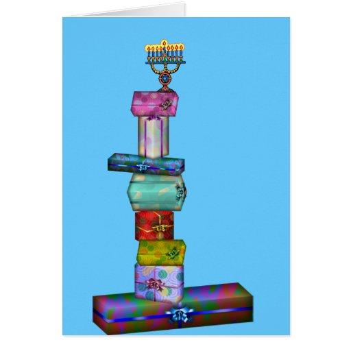 Hanukkah Gifts Card