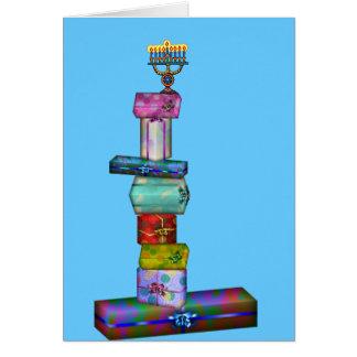 Hanukkah Gifts Greeting Card