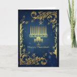 "hanukkah holiday card with menorah<br><div class=""desc"">hanukkah holiday card with menorah</div>"