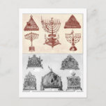 "Hanukkah Holiday Postcard<br><div class=""desc"">Hanukkah</div>"