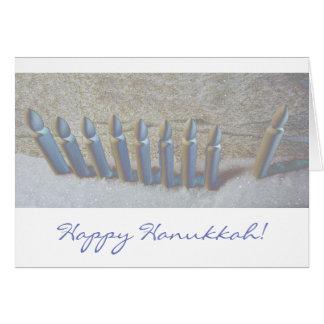 Hanukkah in the Snow Card