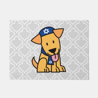 Hanukkah Jewish Labrador Retriever Puppy Dog Doormat