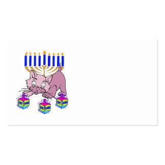 Hanukkah Kitty Business Card