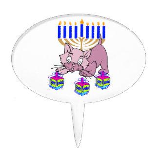 Hanukkah Kitty Cake Topper