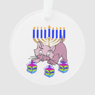 Hanukkah Kitty Ornament