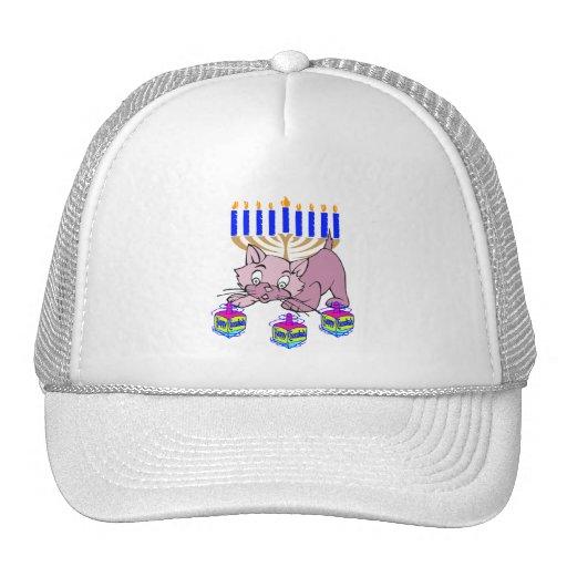 Hanukkah Kitty Trucker Hat
