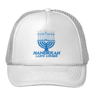 HANUKKAH LASTS LONGER -.png Trucker Hat