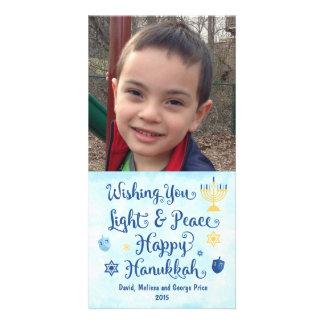 Hanukkah Light and Peace Card
