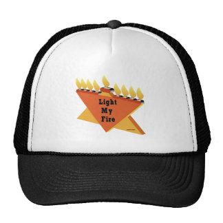 HANUKKAH LIGHT MY FIRE MENORAH GIFT TRUCKER HAT