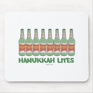 HANUKKAH LITES MENORAH  BOTTLES GIFTS MOUSE PAD
