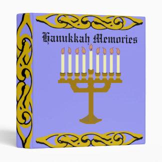 Hanukkah Memories Binder