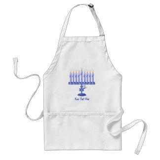 Hanukkah Menorah (customizable) Adult Apron