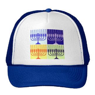 Hanukkah Menorah Trucker Hat