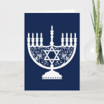 "Hanukkah Menorah Holiday Card<br><div class=""desc"">Menorah</div>"