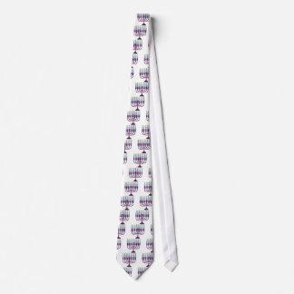 Hanukkah Menorah Neck Tie
