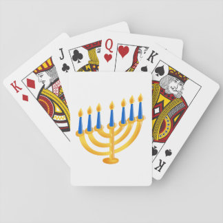 Hanukkah Menorah Card Deck
