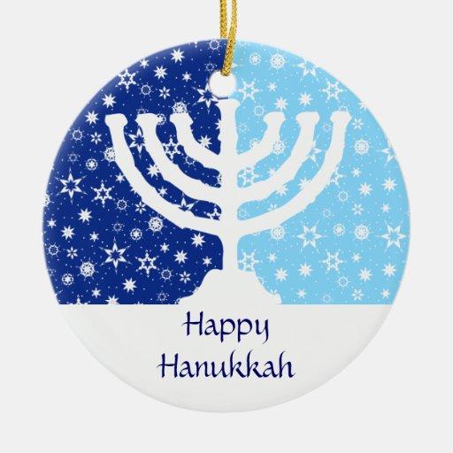Hanukkah Menorah Ornament