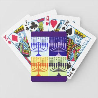 Hanukkah Minorah Deck Of Cards