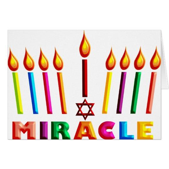 Hanukkah Miracle Card