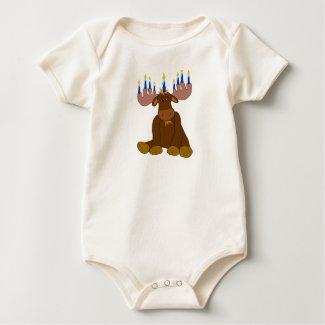 Hanukkah Moose Baby Shirt shirt