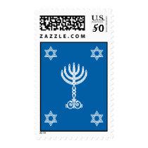 Hanukkah Motif Stamp