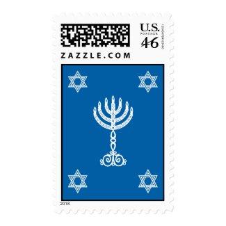 Hanukkah Motif Stamp stamp
