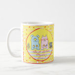 """Hanukkah Mug &quot;Best Latke Maker&quot;<br><div class=""""desc"""">Happy Hanukkah mug. &quot;Best Latke Maker&quot; Chanukah Mug. Personalize by deleting and replacing text with your own with your favorite font style, size, and color. Create a simply simple gift by adding some goodies to the mug, wrap it in cellophane and tie it with a bow. Enjoy! Thanks for stopping...</div>"""