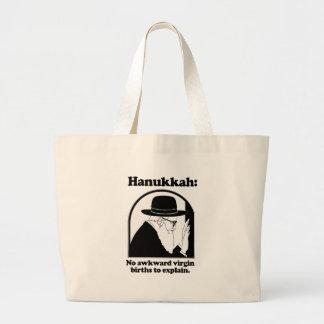 Hanukkah - No awkward virgin births Bags