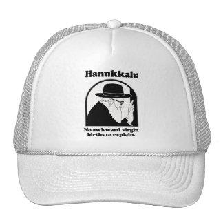 Hanukkah - No awkward virgin births Trucker Hat