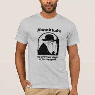 Hanukkah - No awkward virgin births T-Shirt