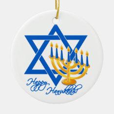 Hanukkah Ornament - Customize at Zazzle