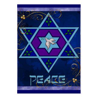 Hanukkah Peace Art Business Cards