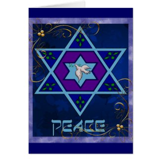 Hanukkah Peace Art Cards