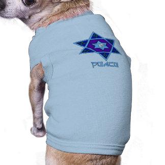 Hanukkah Peace Art Dog Shirt